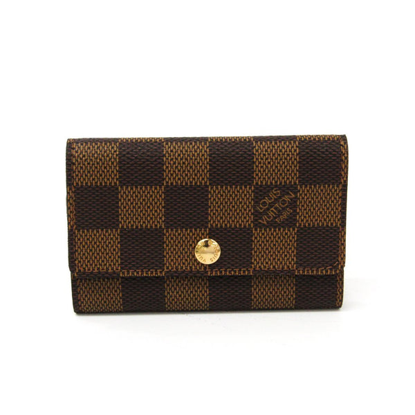 Buy & Consign Authentic Louis Vuitton Damier Canvas 6 Key Holder at The Plush Posh