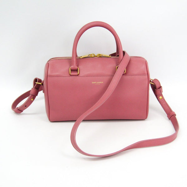 Buy & Consign Authentic Saint Laurent Calfskin Classic Baby Duffle Pink at The Plush Posh