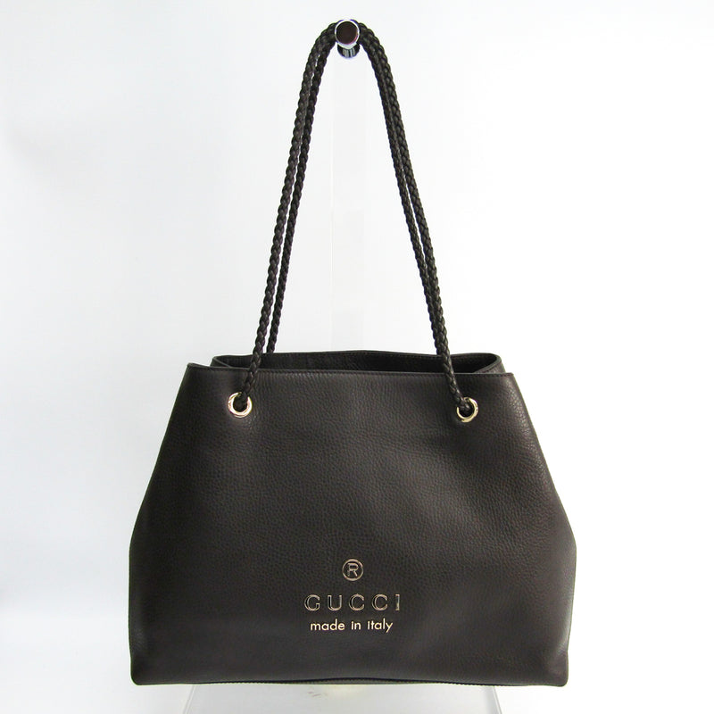 Buy & Consign Authentic Gucci Logo Tote Brown at The Plush Posh
