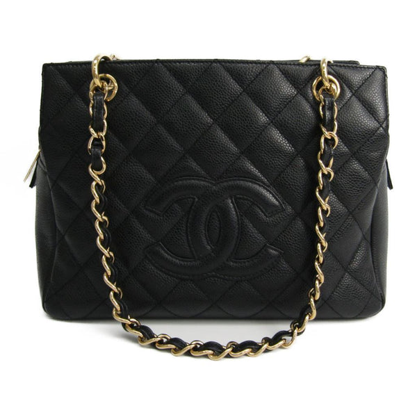 Buy & Consign Authentic Chanel Caviar Leather Petite Timeless Shopping Tote at The Plush Posh