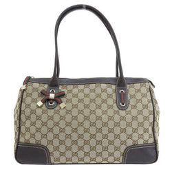 Buy & Consign Authentic Gucci GG Canvas Princi Tote Bag Beige at The Plush Posh