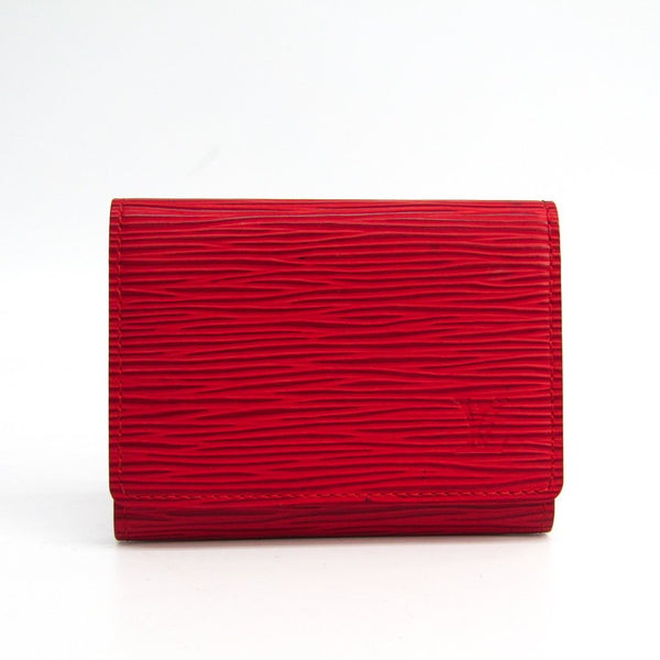 Buy & Consign Authentic Louis Vuitton Epi Leather Business Card Case Rouge at The Plush Posh