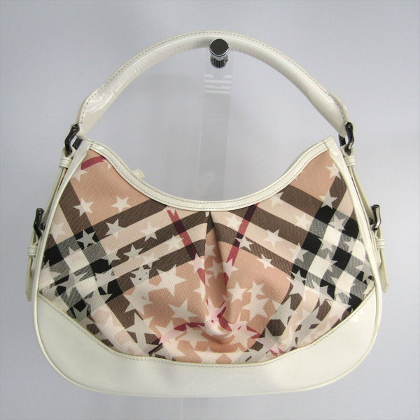 Buy & Consign Authentic Burberry Star Printed Hobo Cream at The Plush Posh