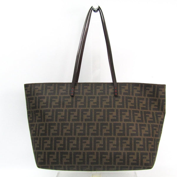 Buy & Consign Authentic Fendi Zucca Tote Bag Brown,Khaki at The Plush Posh