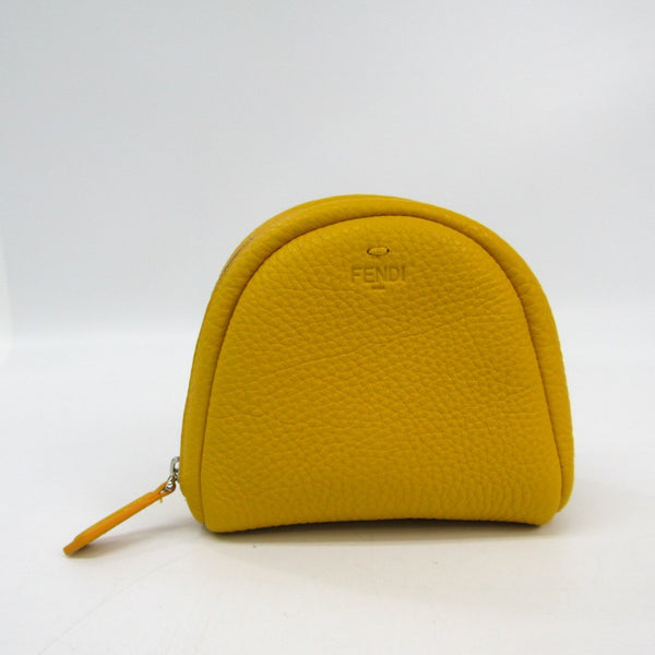 Buy & Consign Authentic Fendi Yellow Leather Pouch at The Plush Posh