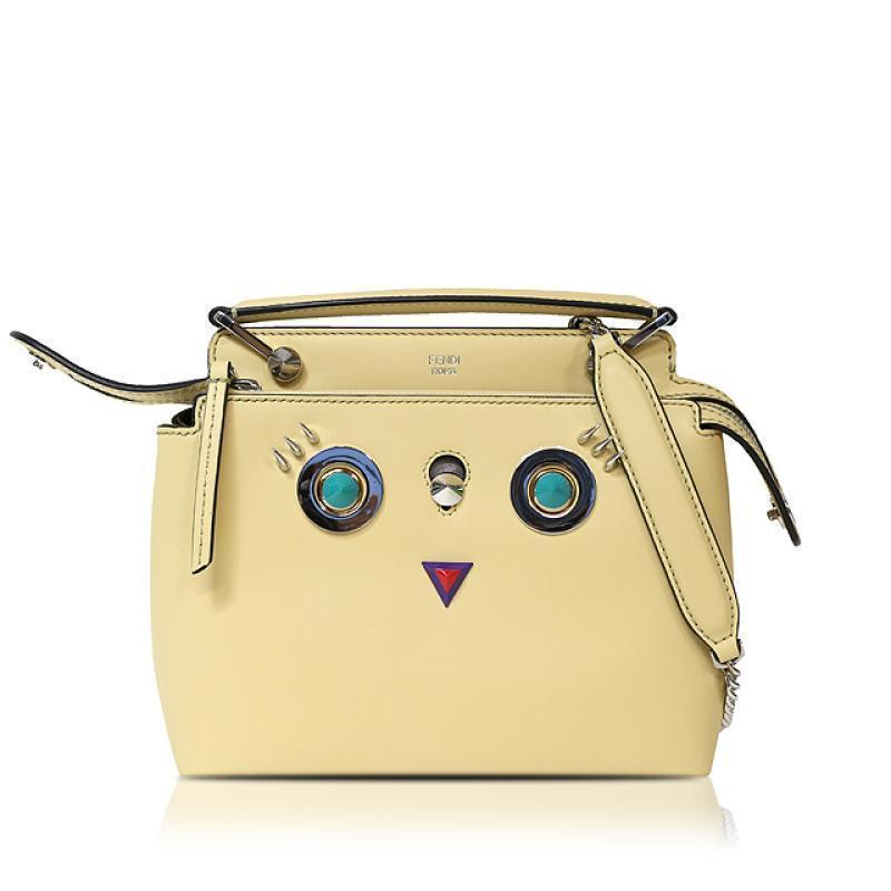Buy & Consign Authentic Limited Edition Fendi Small Dot Com Bag With Face Detail at The Plush Posh