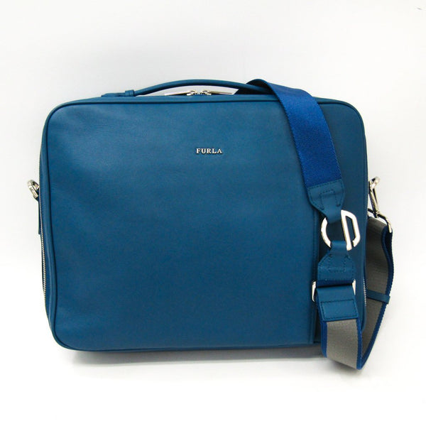 Buy & Consign Authentic Furla Argo Leather Backpack at The Plush Posh