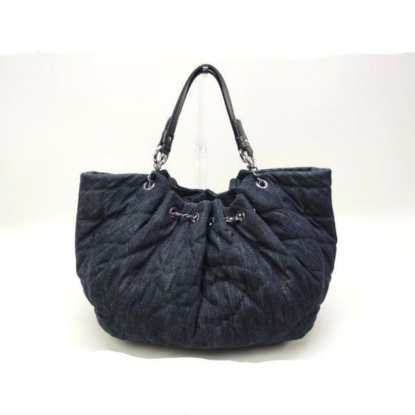 Buy & Consign Authentic Chanel Denim Tote Bag at The Plush Posh