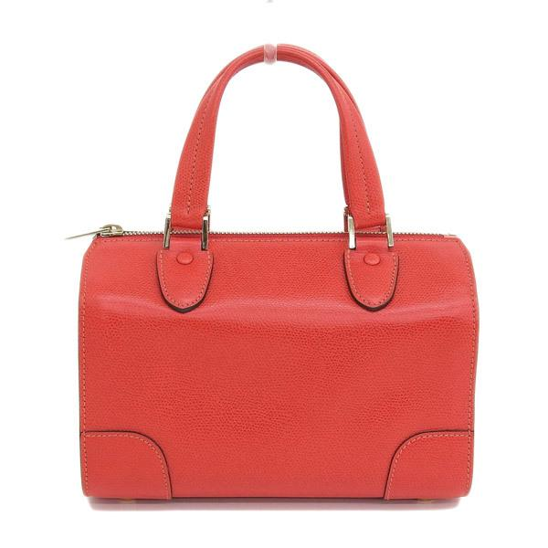 Buy & Consign Authentic Valextra Leather Mini Boston Bag at The Plush Posh