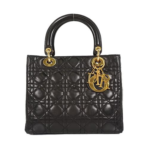Buy & Consign Authentic My Lady Dior Medium Tote at The Plush Posh