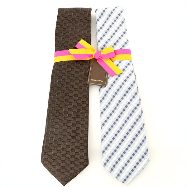 Buy & Consign Authentic Louis Vuitton Two Tie Set at The Plush Posh