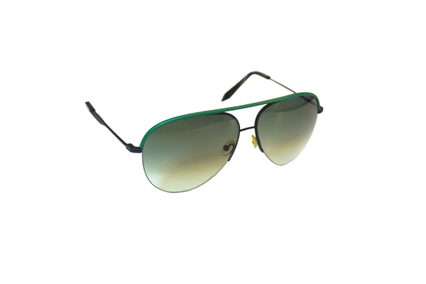Victoria Beckham Classic Dover Street Green Aviator Shades