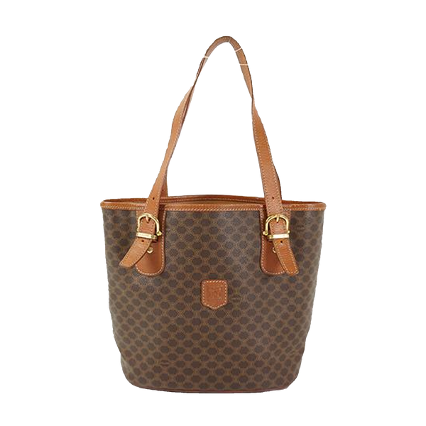 Buy & Consign Authentic Celine Baguette Bag Macadam Brown at The Plush Posh