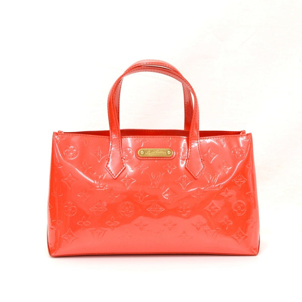 Buy & Consign Authentic Louis Vuitton Willshire Red Vernis Leather Hand Bag at The Plush Posh