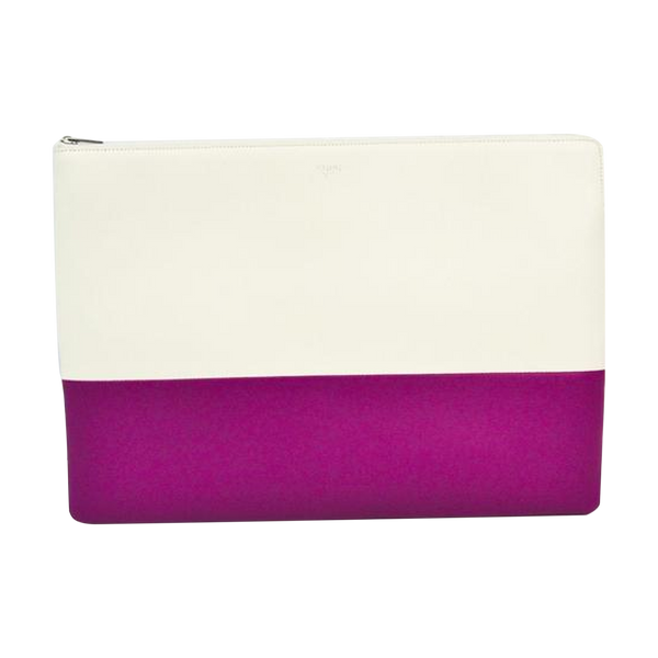 Buy & Consign Authentic Celine Bicolor Leather Large Zipped Multifunction Wallet at The Plush Posh