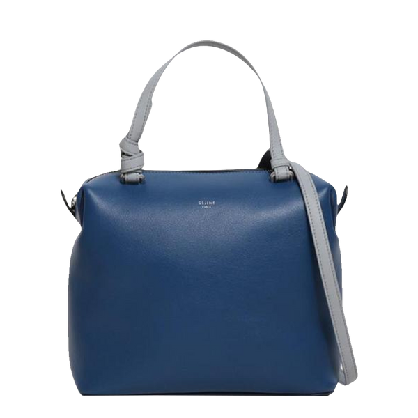 Buy & Consign Authentic Celine Lambskin Soft Cube Small Shoulder Satchel Bag at The Plush Posh