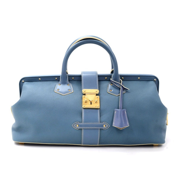 Buy & Consign Authentic Louis Vuitton Suhali L'Ingenieux GM Blue at The Plush Posh