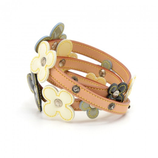 Buy & Consign Authentic Louis Vuitton Flower Motif Belt In Multicolor Vernis Leather x Cowhide Leather at The Plush Posh