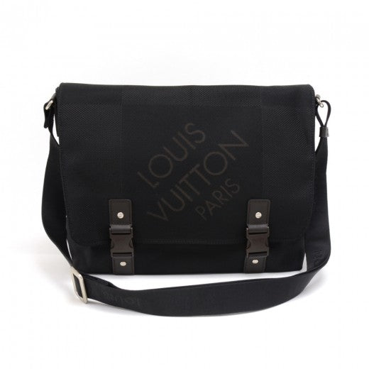 Louis Vuitton Loup Black Noir Damier Geant Messenger Bag