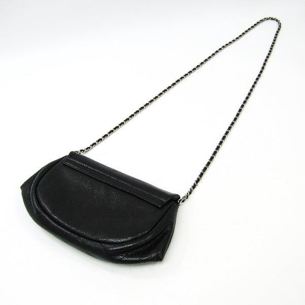 Buy & Consign Authentic Chanel Caviar  Half Moon Flap Black at The Plush Posh
