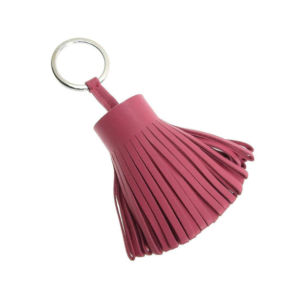 Buy & Consign Authentic Hermes Lambskin Carmen Tassel Key Holder Pink at The Plush Posh