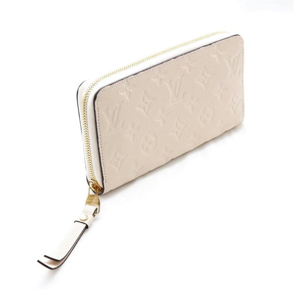 Buy & Consign Authentic Louis Vuitton Monogram Empreinte Zippy Wallet Beige at The Plush Posh