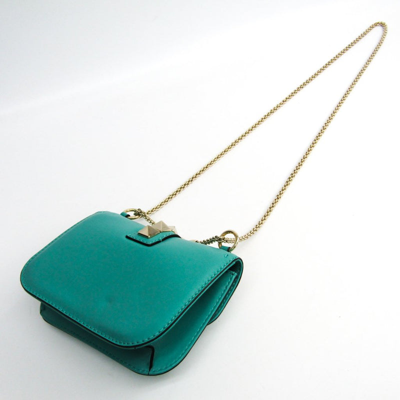 Buy & Consign Authentic Valentino Nappa Va Va Voom Green Shoulder Bag at The Plush Posh