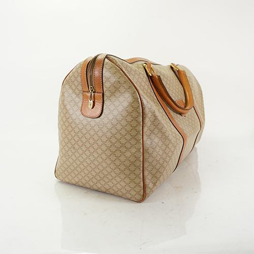 Buy & Consign Authentic Celine Boston Bag Macadam Brown at The Plush Posh