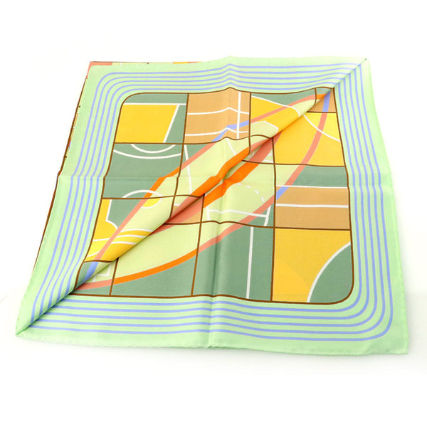 Buy & Consign Authentic Hermes Carre 90 Sports 100% Silk Scarf at The Plush Posh
