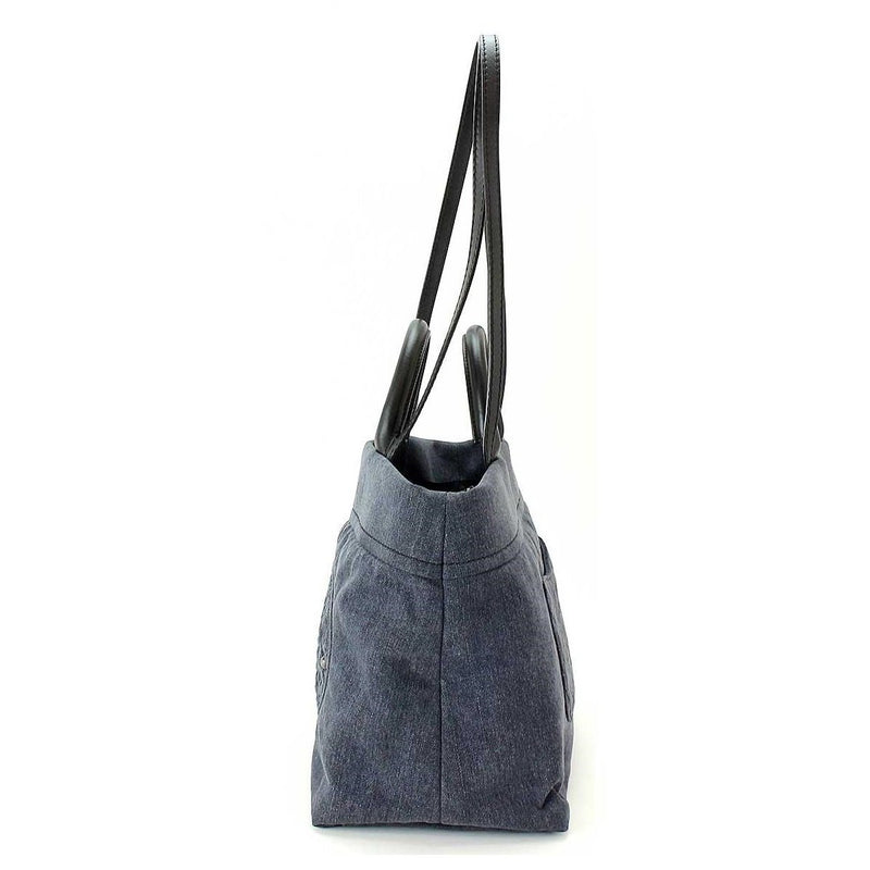 Buy & Consign Authentic Chanel Denim Shoulder Bag at The Plush Posh