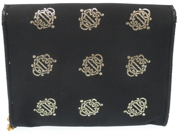 Buy & Consign Authentic Christian Dior Silk Satin Chain Vintage Clutch at The Plush Posh