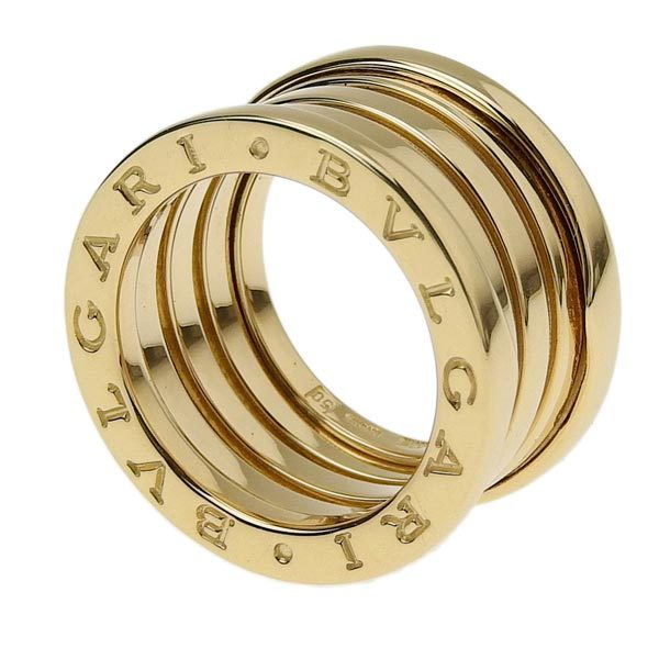 Bvlgari 18K Yellow Gold B.Zero1 Three-Band Ring