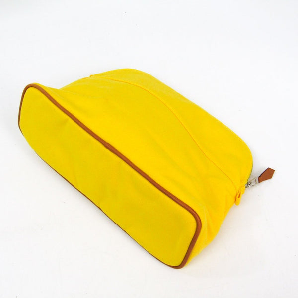 Buy & Consign Authentic Hermes Bolide Pouch Yellow at The Plush Posh