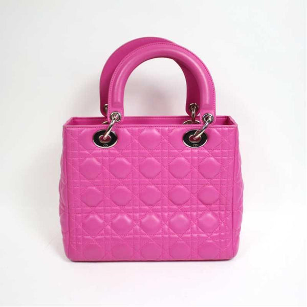 Buy & Consign Authentic Lady Dior Cannage in Pink at The Plush Posh