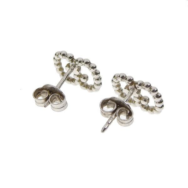 Buy & Consign Authentic Gucci GG Silver Studs at The Plush Posh