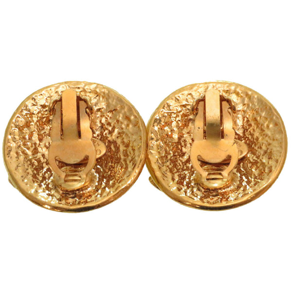 Buy & Consign Authentic Chanel Metal Earrings Gold at The Plush Posh