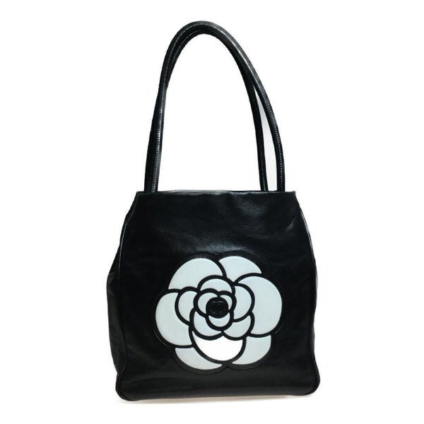 Buy & Consign Authentic Chanel Camellia Leather Handbag at The Plush Posh