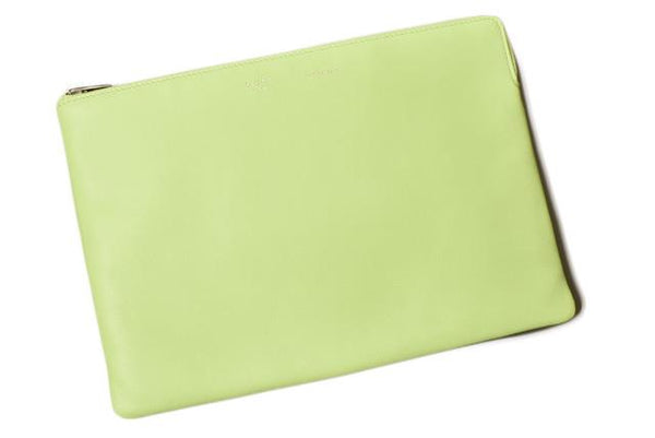Buy & Consign Authentic Celine iPad Case Light Green at The Plush Posh