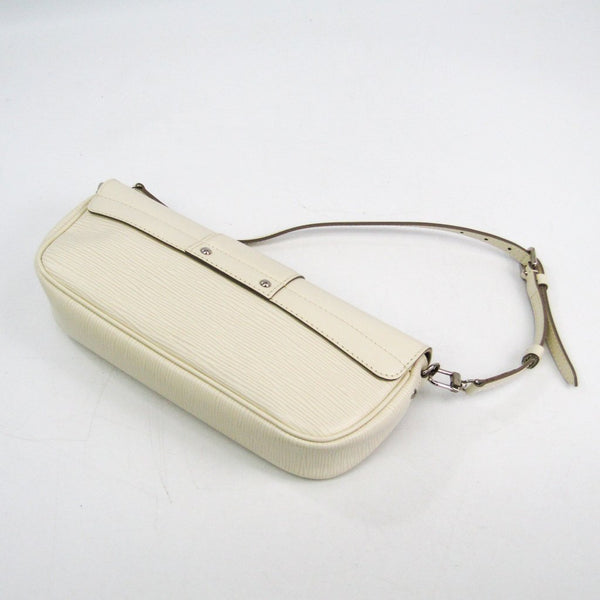 Buy & Consign Authentic Louis Vuitton Epi Pochette Montaigne Ivory at The Plush Posh