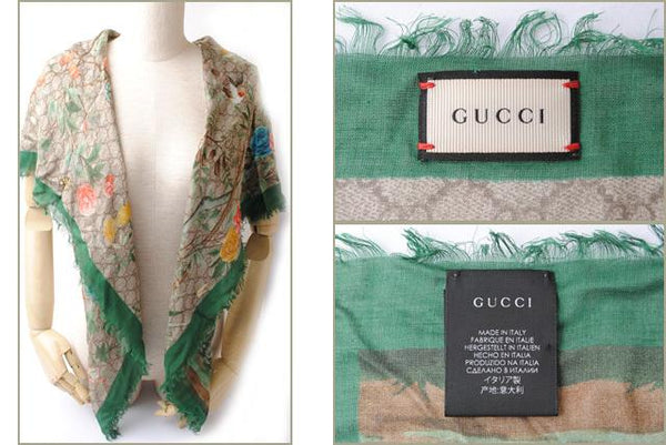 Buy & Consign Authentic Gucci Silk Tian Scarf Multicolor at The Plush Posh