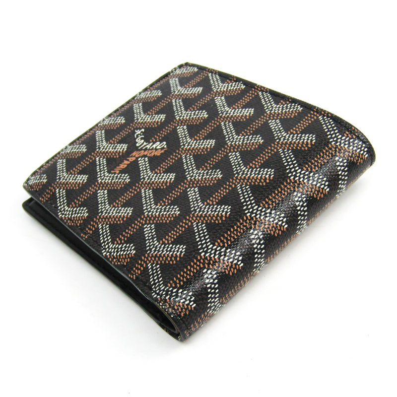 Buy & Consign Authentic Goyard Goyardine Multi Slot Bi-Fold Wallet Black at The Plush Posh