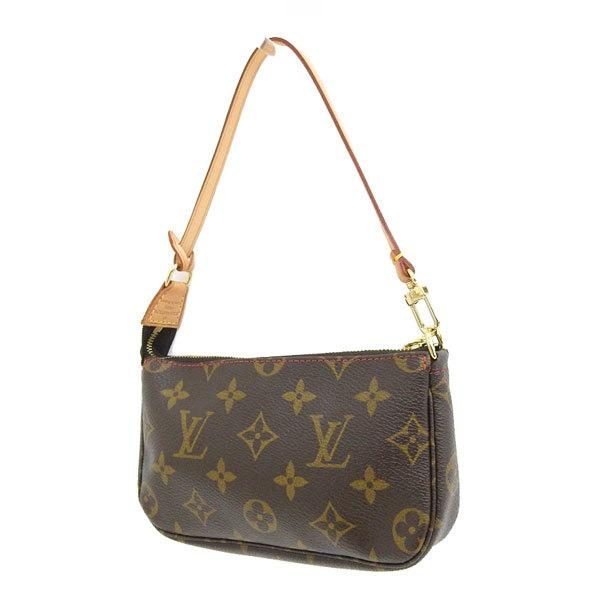 Buy & Consign Authentic Louis Vuitton Monogram Cherry Pochette Brown at The Plush Posh