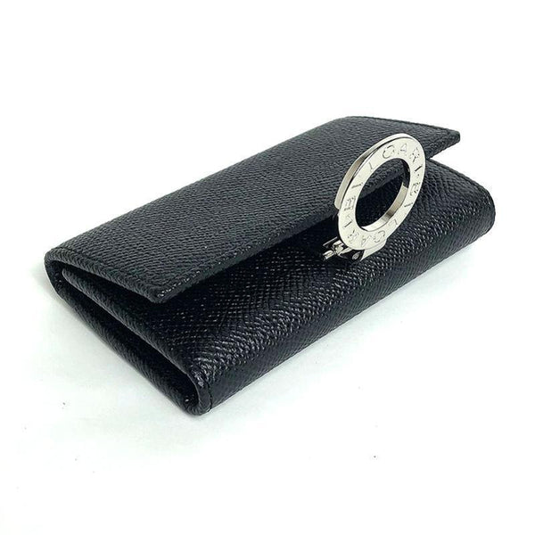 Buy & Consign Authentic BVLGARI MAN Key Holder Black at The Plush Posh