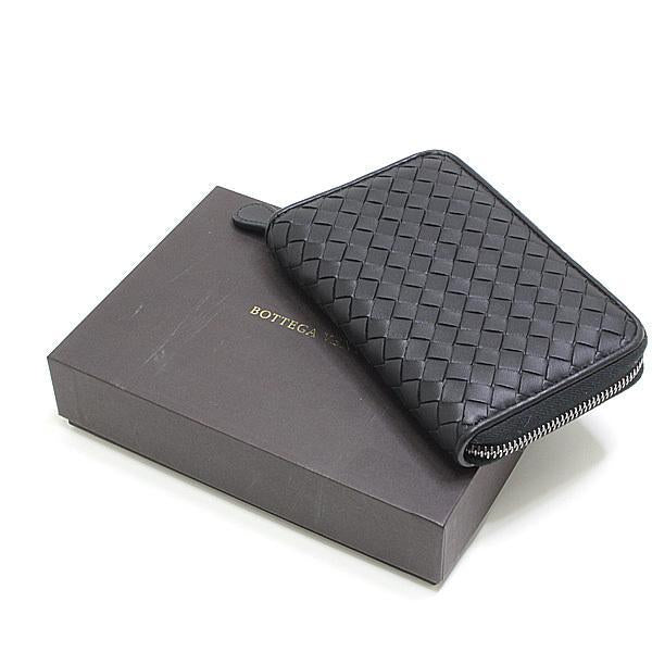 Buy & Consign Authentic Bottega Veneta Intrecciato Zip Around Wallet at The Plush Posh