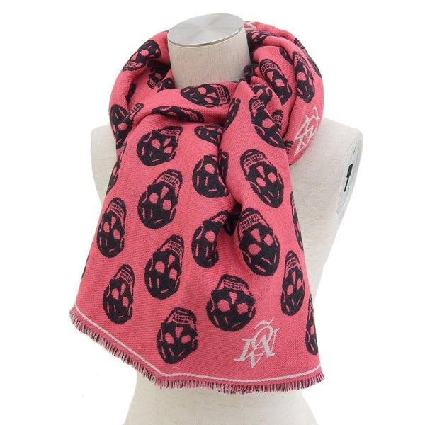 Buy & Consign Authentic Logo Skull Pattern Muffler at The Plush Posh