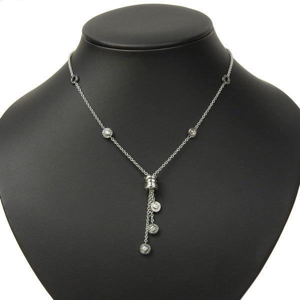 Buy & Consign Authentic Bvlgari Element 5P Diamond Necklace at The Plush Posh