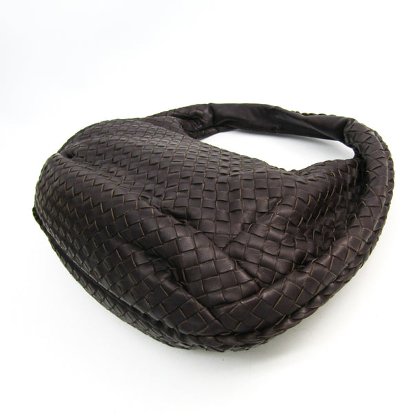 Bottega Veneta Nappa Intrecciato Medium Belly Veneta Hobo Ebano