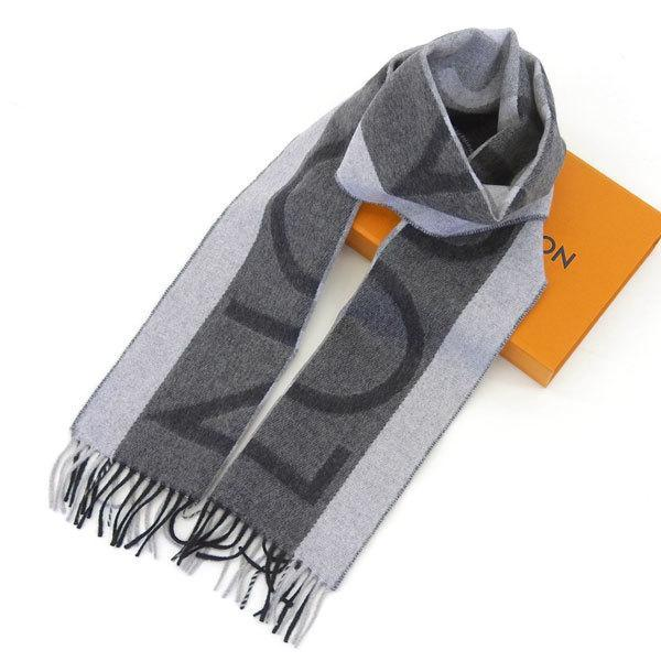 Buy & Consign Authentic Louis Vuitton Esharpu LV Horizon Scarf Gray at The Plush Posh