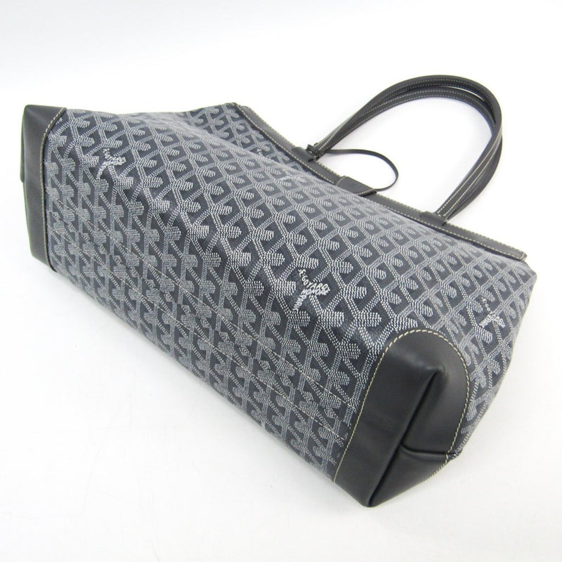 Buy & Consign Authentic Goyard Goyardine Bellechasse Tote PM Grey at The Plush Posh