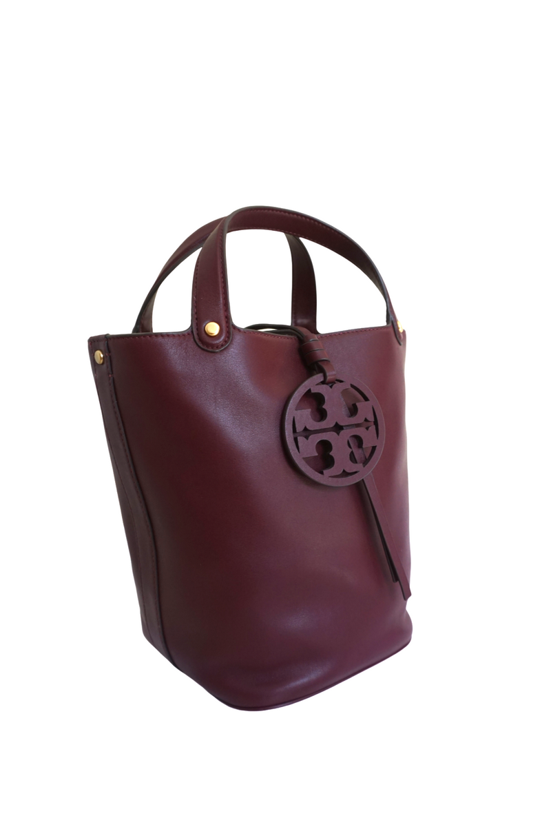 Tory Burch Leather Shopping Tote